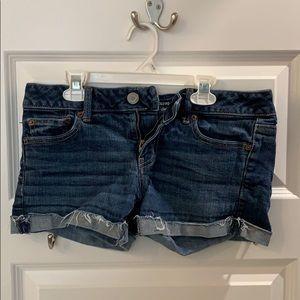 American Eagle Size 8 Women's Stretch Jean Shorts